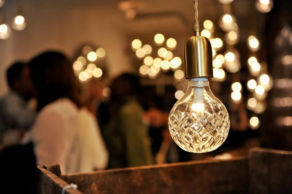 Подвесной светильник Crystal Bulb by Lee Broom (25 подвесов)