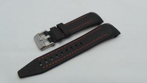 Ремешок кожаный для часов Восток Европа Луноход-2 620A506 6205189 6205207
