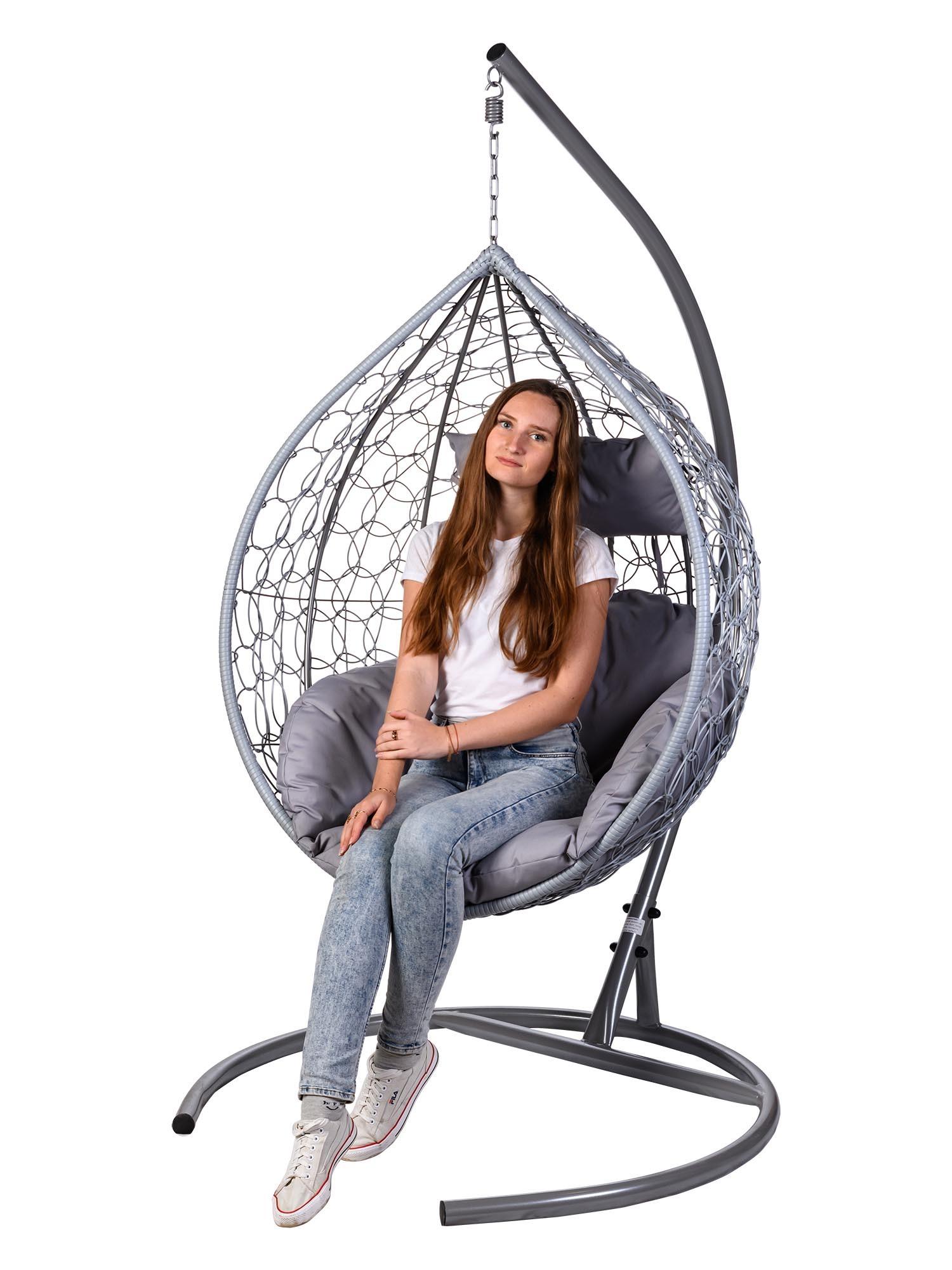 Подвесные кресла Подвесное кресло TROPICA GRAY TropicaGray.jpg