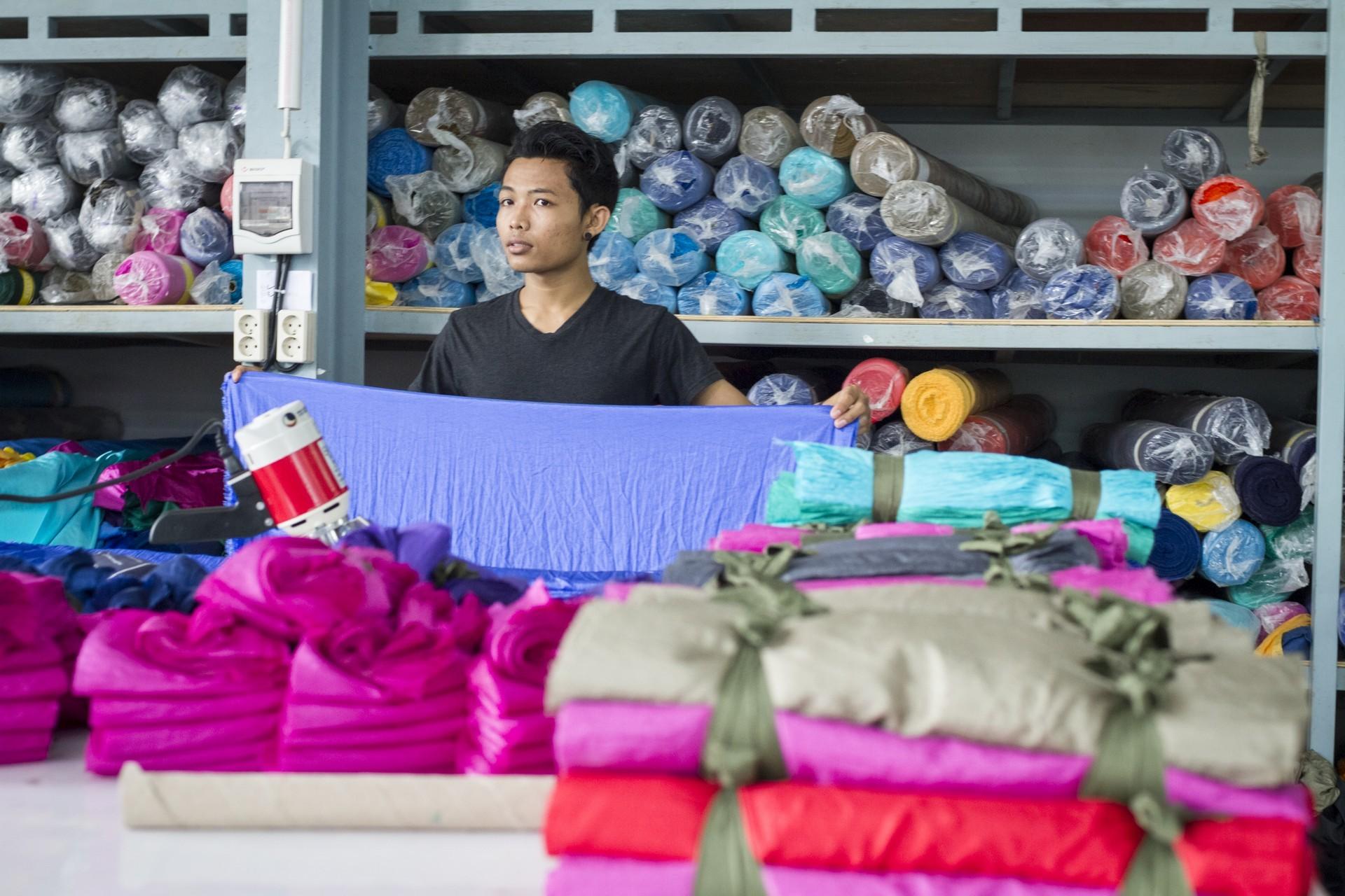 Магазин гамаков на о. Бали.