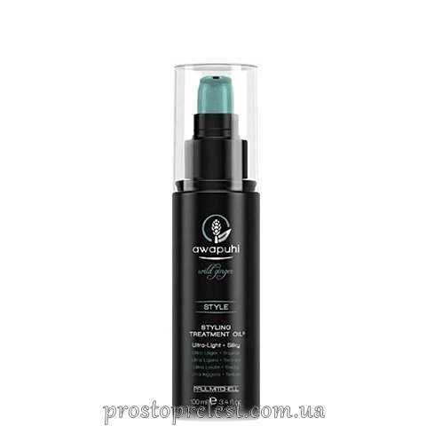 Paul Mitchell AWAPUHI - Олія для укладки і догляду за волоссям