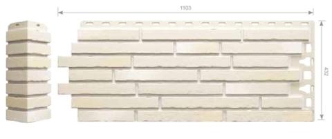 Фасадные панели Docke-R Klinker (Клинкерный кирпич) Сахара