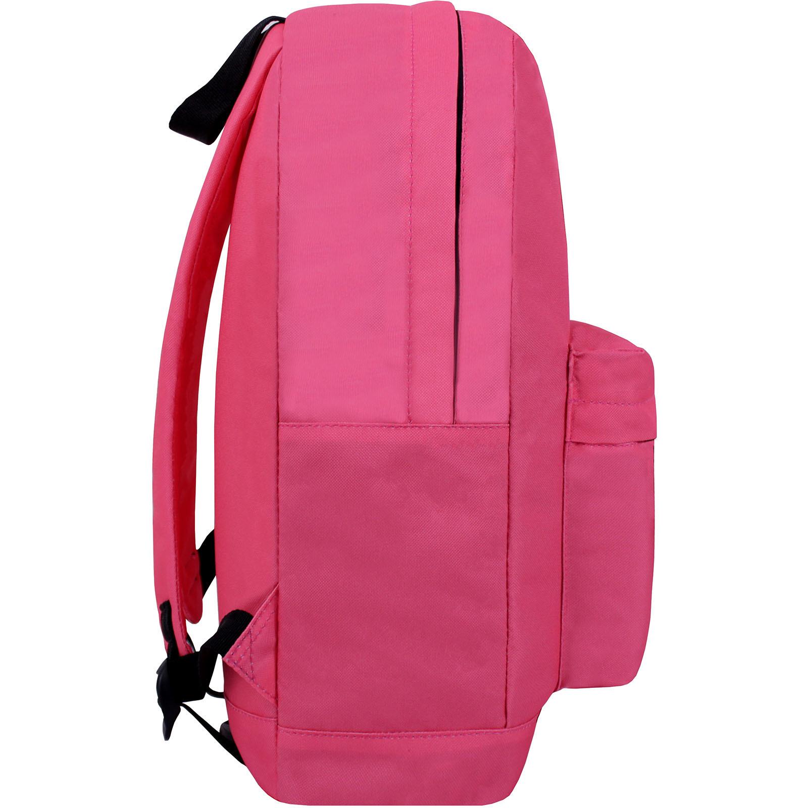 Рюкзак Bagland Молодежный W/R 17 л. Розовый (00533664 Ш) фото 6