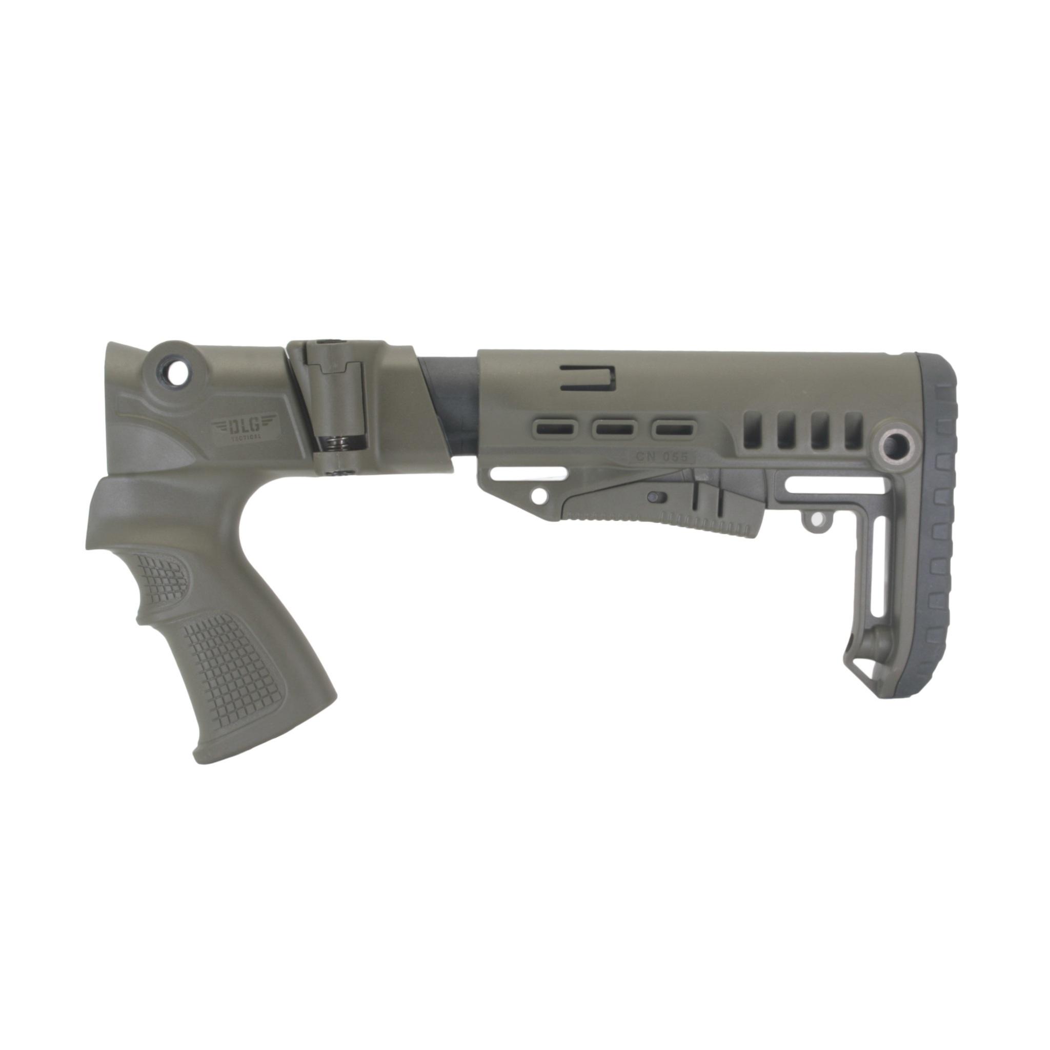 Купить Комплект: Пластиковый приклад МР-155, -135, DLG Tactical