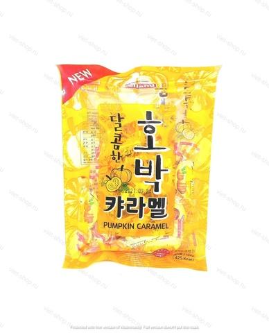 Карамель со вкусом тыквы Melland, Корея 100гр.