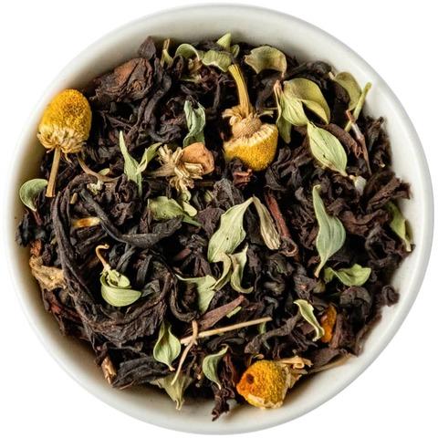 Черный чай с травами 100 гр.