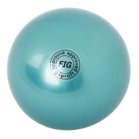 Мяч для худ. гимнастики (19 см, 420 гр) зелен. AB2801