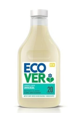 ECOVER Жидкое средство для стирки универсальное суперконцентрат, 1л