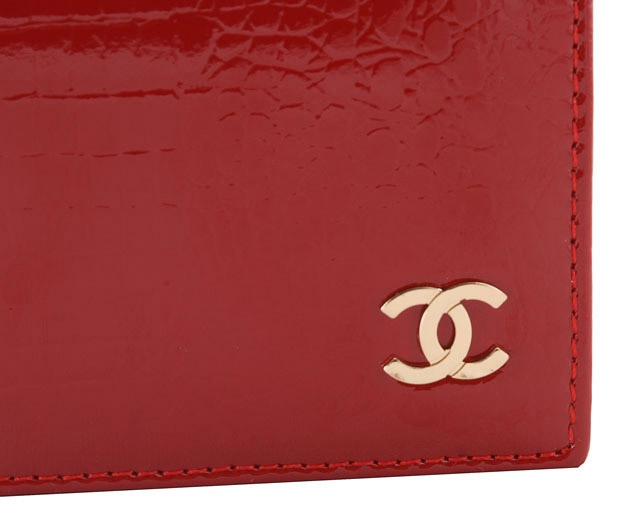 Обложка для паспорта Chanel 9012 red