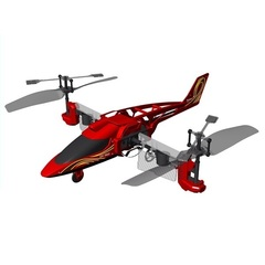 Silverlit 3х канальный вертолет Heli Twister (84593)