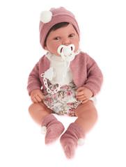 Munecas Antonio Juan Кукла Сэнди в розовом, 40 см (3369)