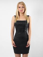 6336-1 платье черное