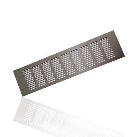 Решетка Europlast 40х500мм Коричневая RA450B