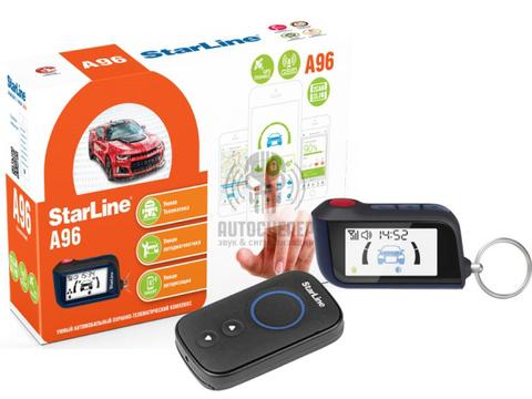 Автоcигнализация StarLine A96 2CAN+2LIN GSM-GPS