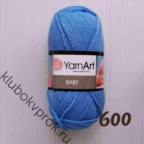 YARNART BABY 600, Голубой