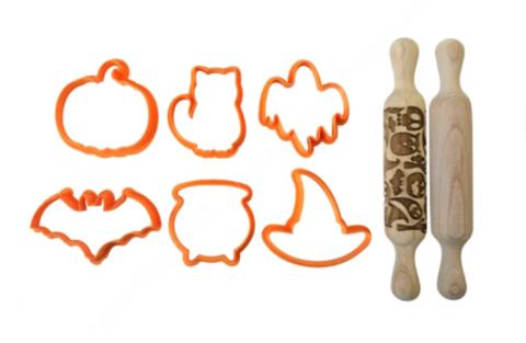 Набор форм и скалок «Хеллоуин