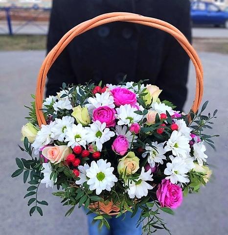 Цветы в корзинке #1549