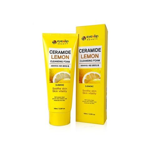 Eyenlip Ceramide Lemon Cleansing Foam пенка для умывания с лимоном и керамидами