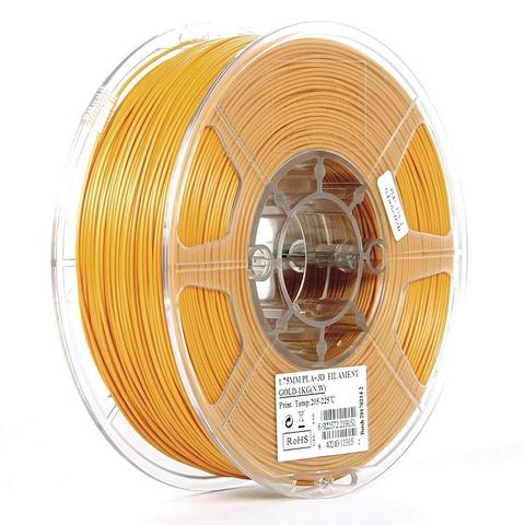 ESUN PLA+ 1.75 мм 1кг., золотистый