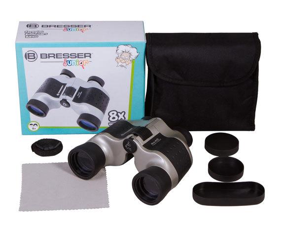 Бинокль детский Bresser Junior 8x40 - фото 2 - комплект поставки