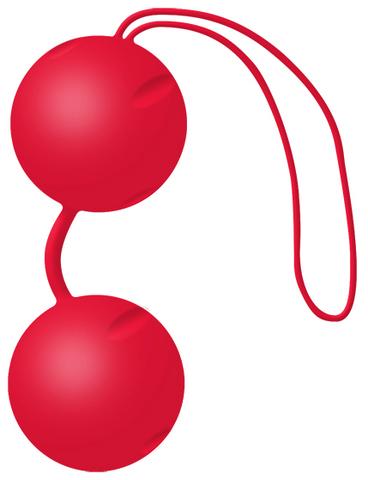 Joyballs Вагинальные шарики Trend красные матовые