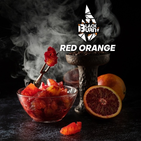 Табак Burn Black Red Orange (Красный апельсин) 100 г