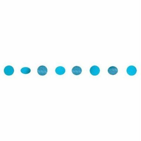 Гирлянда Круги Carib Blue блеск 2,1м6штA