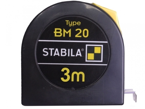 Карманная рулетка Stabila тип BM20 3 метра (арт. 16445)