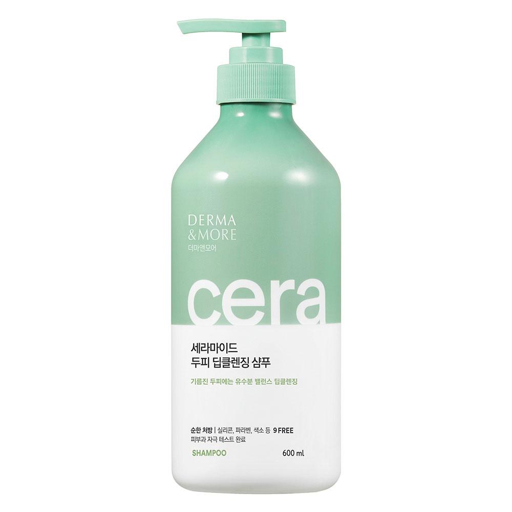 Шампунь для волос DERMA&MORE Глубокое очищение
