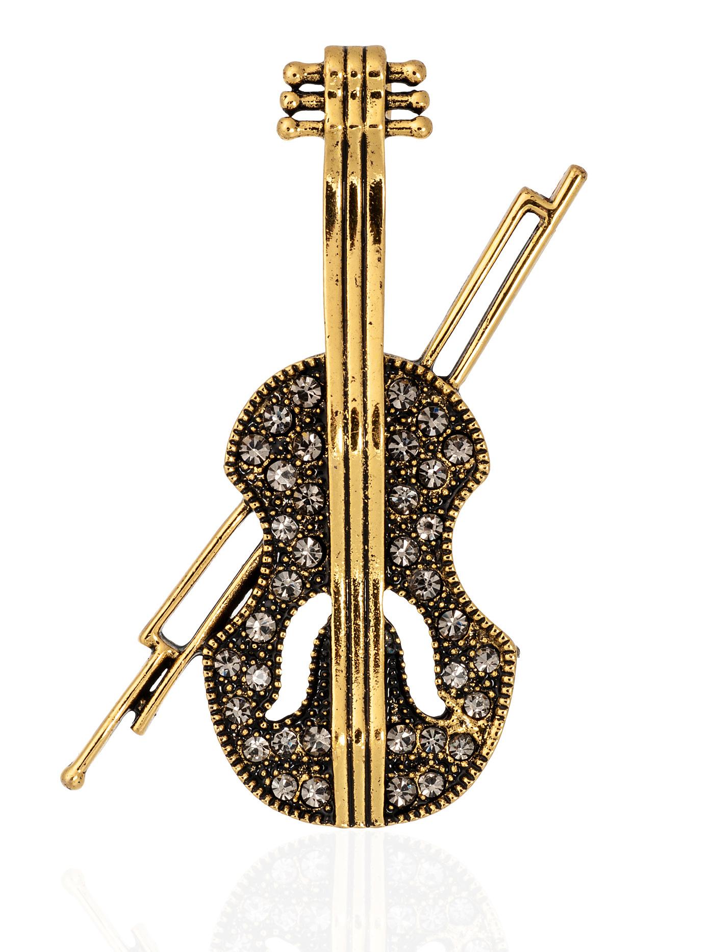 Брошь Виолончель, подарок музыканту, учителю музыки