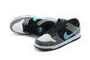Nike Dunk Low 'Grey/Black/White/Light Blue'