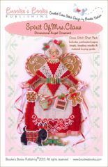 Brooke`s Books Publishing Spirit of Mrs. Claus Angel