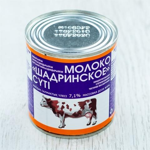 Молоко конц ШАДРИНСКОЕ 7,1 % 300 г ж/б Юнимилк РОССИЯ