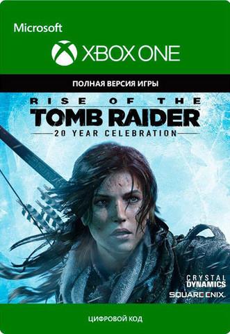 Rise of the Tomb Raider 20-летний юбилей (Xbox One/Series S/X, цифровой ключ, русская версия)