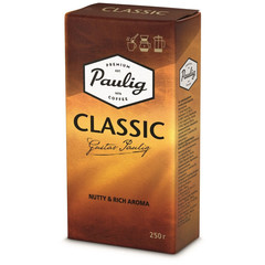Кофе молотый Paulig Classic 250 г (вакуумная упаковка)