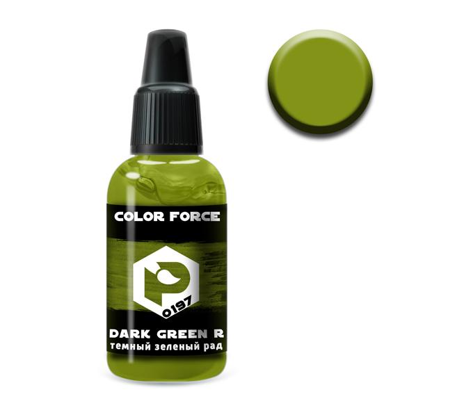 Краски P-0197 Краска Pacific88 Темный Зеленый Радоактивный (Dark Green Radioactive) укрывистый, 18мл 0197.jpg
