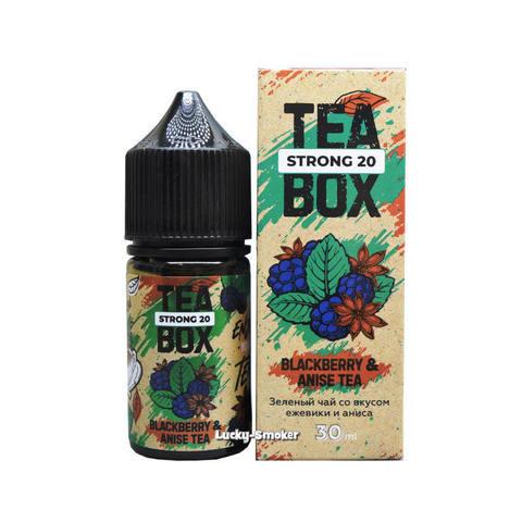 Жидкость Tea Box Salt 30 мл Blackberry & Anise Tea