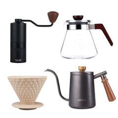 Набор аксессуаров для кофе в пуровере YAMI Pour Over Set   Easy-cup.ru