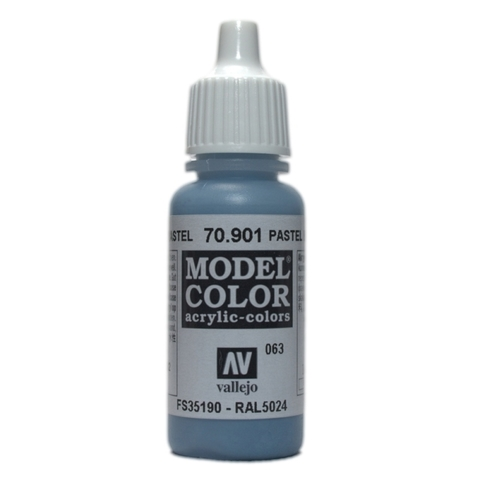 Model Color Pastel Blue 17 ml.