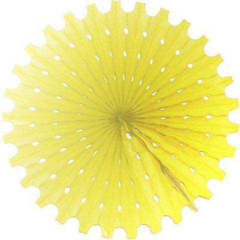 Фант бумажный желтый 40см/G