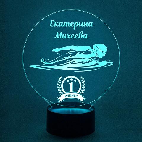 Светильник плавание