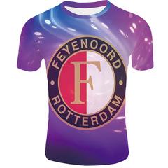 Футболка 3D принт, ФК Фейеноорд  (3Д Feyenoord Rotterdam) 12