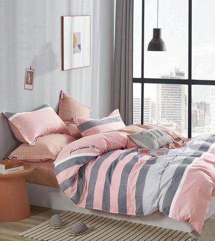 Постельное белье Аэлита розовый