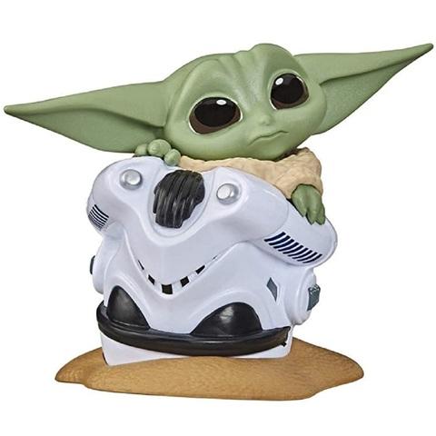Звёздные войны: Мандалорец 2 Малыш Йода 6 см Спрятавшийся в Шлеме