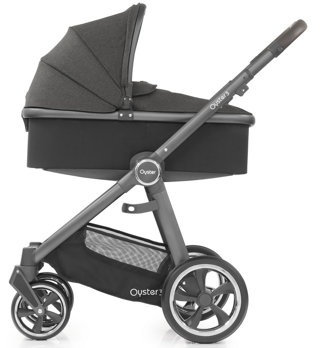 OYSTER 3 OYSTER 3 Pepper 2 в 1 на сером шасси Oyster3_Carrycot_onChassis_CityGrey_Pepper_cr.jpg