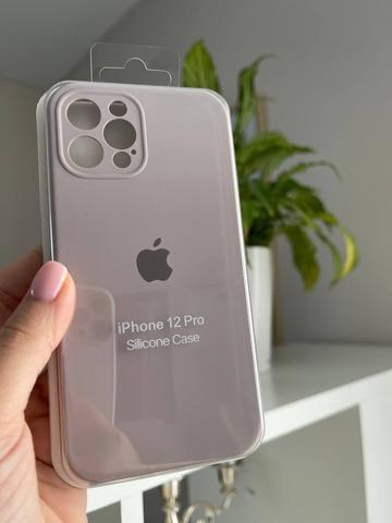 iPhone 12 Pro Max Silicone Case Full Camera /lavender/