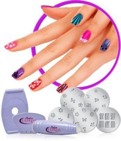 Набор для нейл арта Salon Express Nail Art Stamping Kit