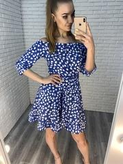летнее платье плечи nadya