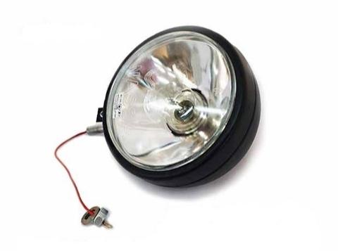 Фара-искатель не в сборе (фараискатель, прожектор) Уаз 469, Хантер простая лампа (пр-во Wassa)