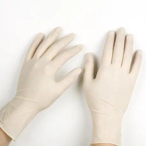 Перчатки латексные UNEX 100 шт, M